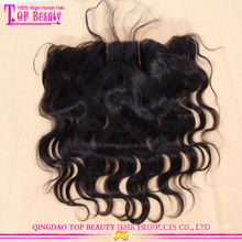 3 Parting body wave brazilian virgin hair lace frontal closure 13*4 ear to ear lace frontal