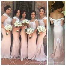 Vente en gros de bonne qualité Nouvelle robe de demoiselle d'honneur à la mariée à la mode et à la longue LB33