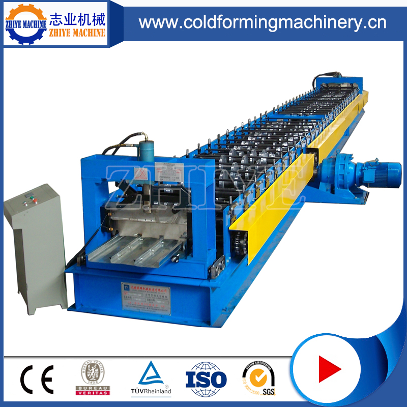 Galvanized Steel Deck Floor Rolling Forming Machine