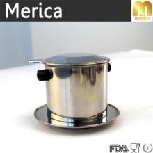 Aço Inoxidável Despeje sobre filtro de café, Dripper de café