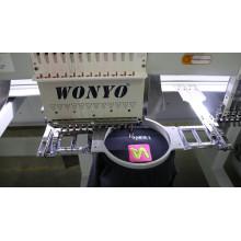 Acogió con satisfacción la máquina de bordado de la máquina del bordado del ordenador de la sola cabeza 12/15 colores Wy1201CS / Wy1501CS