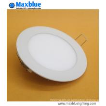 20W dünne runde vertiefte LED-Deckenpanel-Licht