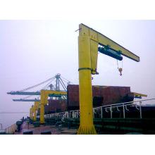 BX type manually rotating wall jib crane