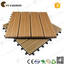 pvc wpc vinyl wood plastic composite deck tile