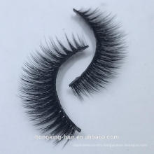 Offer all style soft 3d synthetic silk eyelash natural faber lash