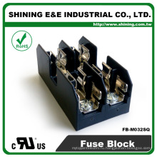 ФБ-M032SQ равна Busmann 600В 2 полюса на DIN-рейку 30 Ампер предохранитель Коробка