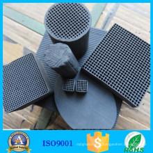 Chine Charbon actif de charbon de bois de nid d'abeilles avec le plus bas prix