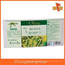 Guangzhou fabricant étiquette sur mesure en gros résistant à l'huile collante pour l'emballage alimentaire