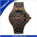 Reloj de madera de las señoras / de los hombres 100% respetuosos del medio ambiente