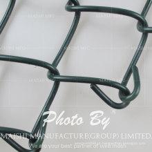 Tecido de elo de corrente revestido de PVC