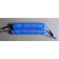 Pneumatischer PU-Spiralschlauch mit Swivel Coupler & Protect Sleeve