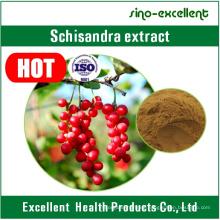 Polvo de extracto de Schisandra Chinensis natural