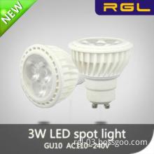 3W led spot light MR16 with GU5.3 cap