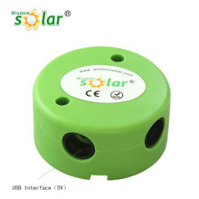 2014 Hot portable solar lamp with bracket for home/camping lighting