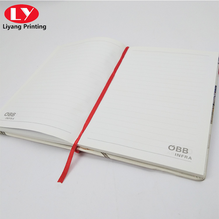 children notebook with Elastic belt