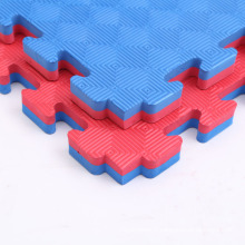 Tapis de Puzzle de Tatami de grappling coloré réversible de modèle