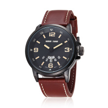 Customized logo leather watches wholesale