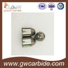 Morceaux de bouton d'extraction de bits de perçage de roche de carbure cimenté