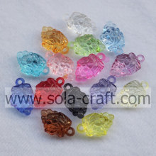 High Quality Hanging Hole Clear Acrylic Grapes Loose Beads