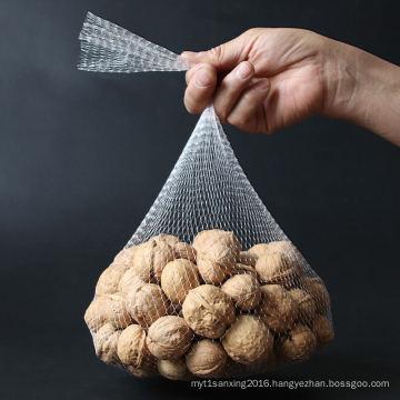 white plastic mesh packing in roll