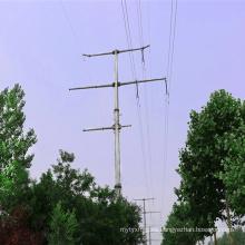 220kv y 110kv Transmisión de potencia Torre de tubo de acero