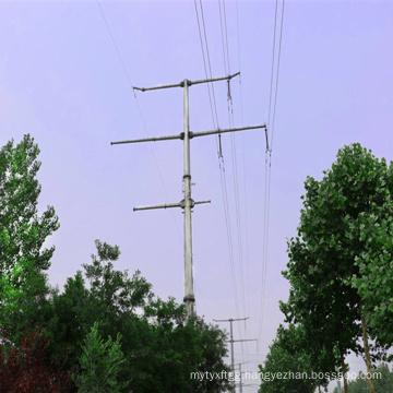 220kv and 110kv Power Transmission Steel Tube Tower