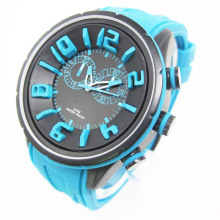 Unique Design Silicone Watch (HAL-1256)