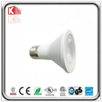 3 anos de projector alto PAR20 do diodo emissor de luz do lúmen 7W da garantia com ETL