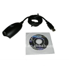 USB 2.0 to Ethernet Converter Cable