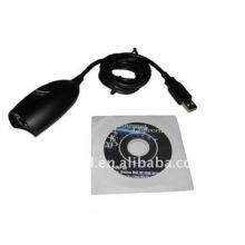 Cabo conversor USB 2.0 para Ethernet