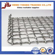 Engranzamento de fio quadrado galvanizado frisado 3X3