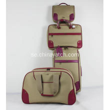 PU Lightwight Soft TraveL Bagage Set