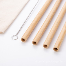 Reusable Biodegradable Eco Friendly Bamboo Drinking Straw