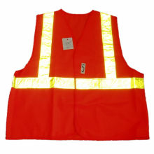 Warning Traffic Reflective Safety Vest for Roadway (JMC-364P)
