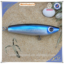 WDL028 14cm 70g floating fishing lure wood saltwater lure VMC