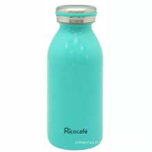 Bouteille de lait vide inox 350ml