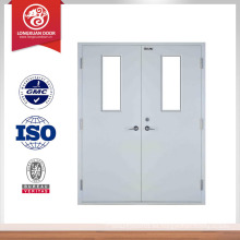 Ul enumerado fuego clasificado puerta doble puerta diseño hotel puerta deisgn