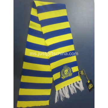 Promosi Striped pasukan Scarf