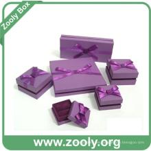 Caja de regalo de joyería de papel / caja de cartón de papel de pulsera de collar / caja de reloj