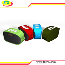 2016 Cheap Kids Bluetooth Speaker with LED Light Clork Alarm Mode USB FM