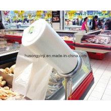 Bolsa de plástico que hace la máquina en rollo, la bolsa de basura máquina