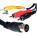 5-Контактный разъемы RCA Штекерами аудио кабель
