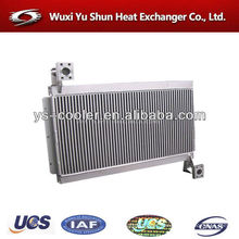 aluminum radiator cores / tank radiator for construction machinery / plate fin type water cooling heat exchanger manufacturer