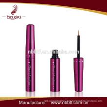 2015 Novo frasco de eyeliner de alumínio vazio rosa quente