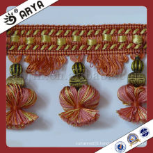 Tassel and Trims for curtain Tapestry and sofa cushion,Curtain Fringe