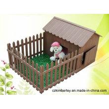 Eco-Friendly, Cute WPC Casa para mascotas