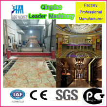2015 Hot Selling Plastic PVC Artificial Marble Production Machine