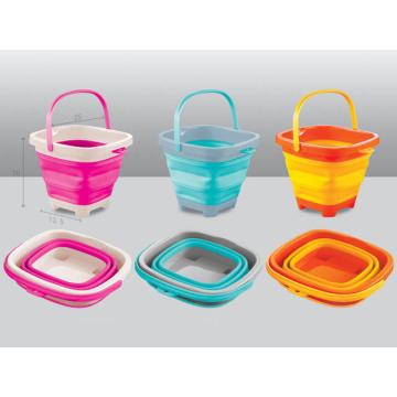 Красочные ведро 5 л & 7L складные ведро для детей
