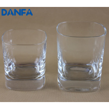 230ml & 340ml Square Old Fashioned Glass Set