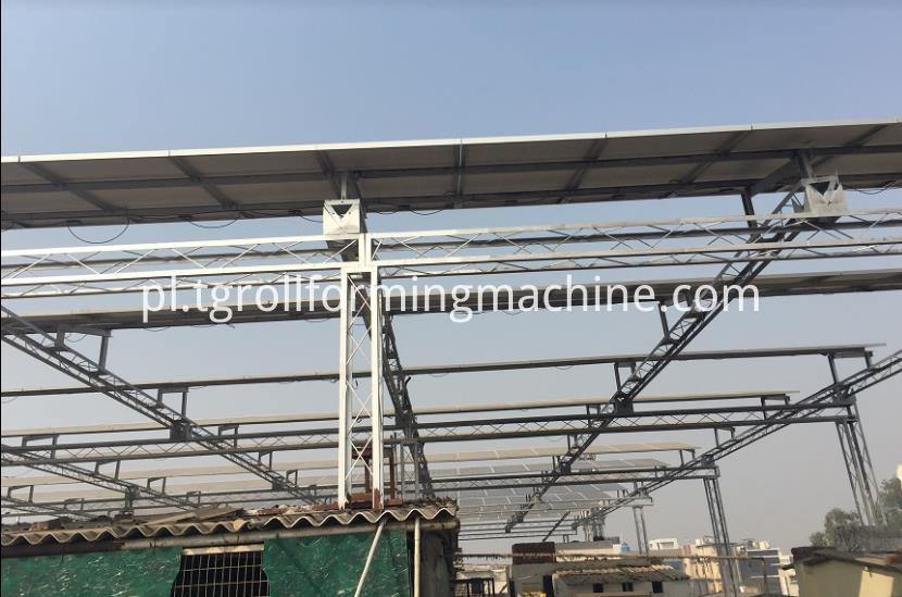Solar Strut Bracket Roll Forming Machine